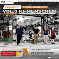 OMSI 2 Add-on Downloadpack Vol. 3 – KI-Menschen (DLC)