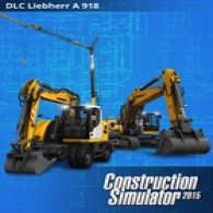 Construction Simulator 2015: Liebherr A 918 (DLC8)