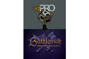 Axis Game Factory's AGFPRO 3.0 & BattleMat Multi-Player Bundle