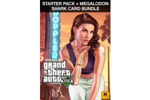 Grand Theft Auto V, Criminal Enterprise Starter Pack and Megalodon Shark Card Bundle